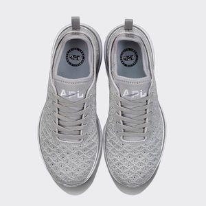 APL • NEW Techloom Phantom Metallic Silver Sneaker